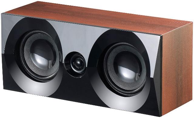 auvisio Holzoptik 5.1 Home-Theater Surround-Sound-System, 160 Watt, MP3/Radio Kompaktanlage, Stereoanlage, Subwoofer, Holz, Holzoptik, Wurze
