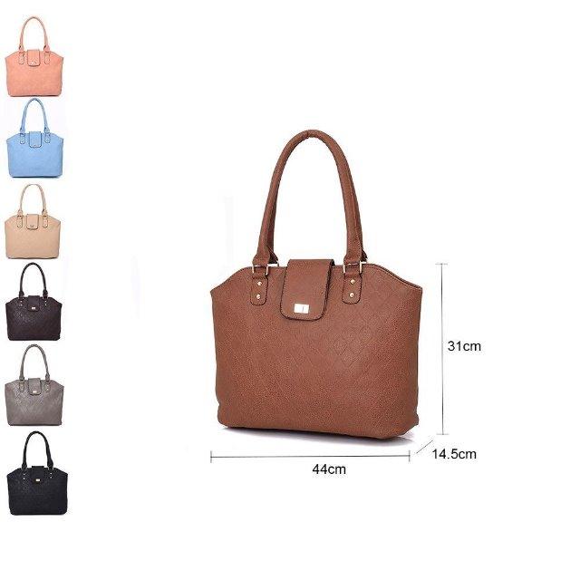 Damen Trend Taschen Tasche Shopper Handtasche Umhängetasche Schultertasche Mixposten - 5,85 - 6,50 Euro