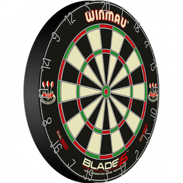 Dartscheibe Dartspiel Steeldart Bristle Dartboard WINMAU Blade 5 Turniermaße Turnierdart WDO