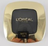 Loreal	Eyeshadow	Mono Color Riche		Noir Cest Noir 100