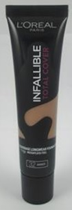 Loreal	Foundation	Infallible Total Cover		Amber 32
