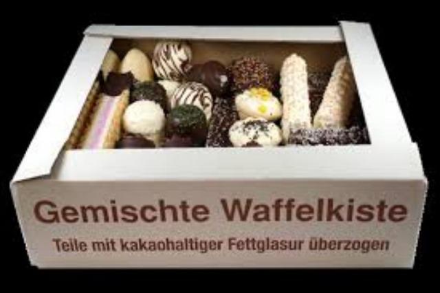XXL Schaumwaffel Mix Waffel Kekse Süßwaren Sonderposten