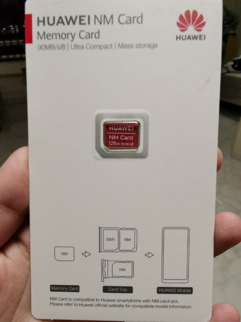 Huawei NM Card (Read 90mb/s, 256GB)