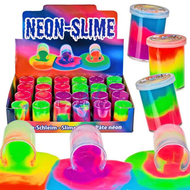 Neon Schleim Rainbow ca.6cm
