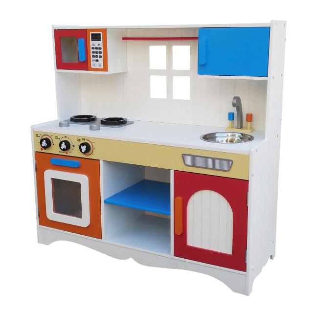 XL Kinderküche Holz Spielküche Kinderspielküche Spielzeugküche ...