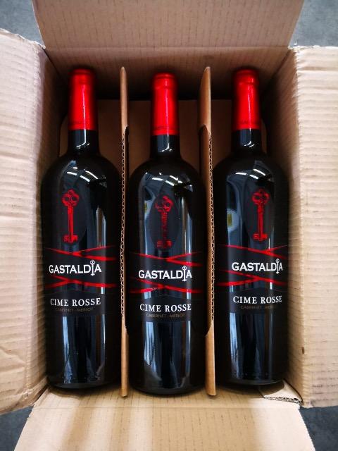 Mega Posten Marken Wein aus Italien  Rotwein in sehr guter Qualität 50400 Falschen