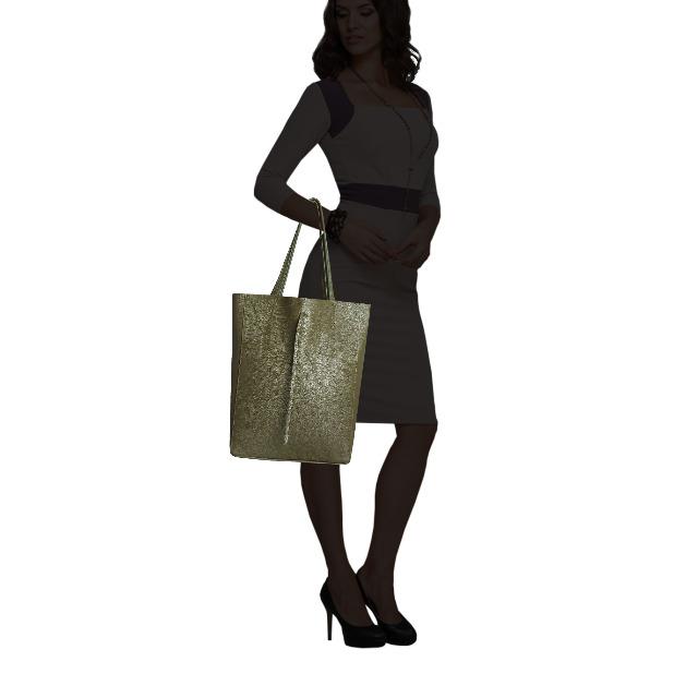 SKUTARI Original Vittoria Classic Shopper aus echtem Leder