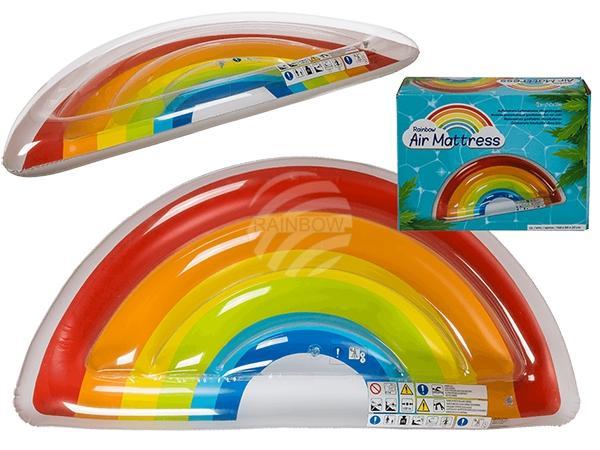 Aufblasbare Luftmatratze, Regenbogen