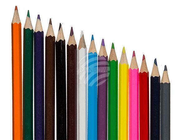 Buntstifte, 15-farbiges Set in Verpackung