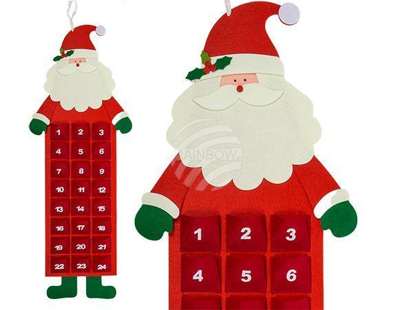 Filz-Adventskalender, Weihnachtsmann