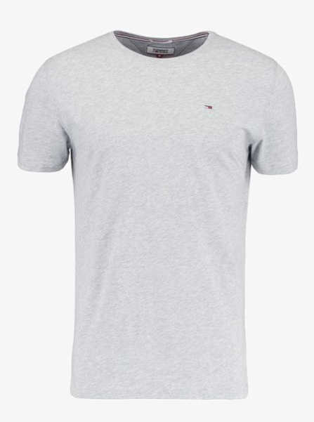 Tommy Jeans ORIGINAL TEE REGULAR FIT - T-Shirt Basic Grau