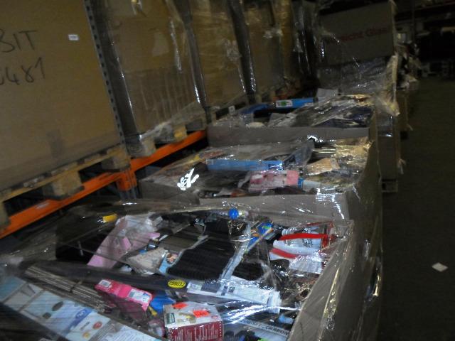 Posten 33 Paletten Mischpaletten Restposten Discounterware Retouren für den Export