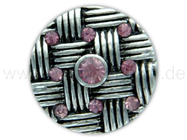 A-ch290 Chunk Button Design: Flechtmuster Farbe: rosa