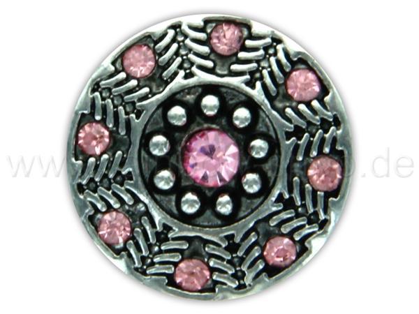 A-ch351 Chunk Button Design: Kreise Farbe: rosa