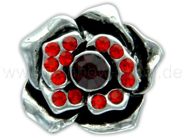 A-ch359 Chunk Button Design: Blume Farbe: rot