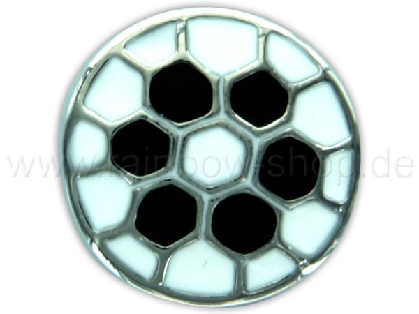 A-ch420 Chunk Button Design: Fussball Farbe: schwarz weiss