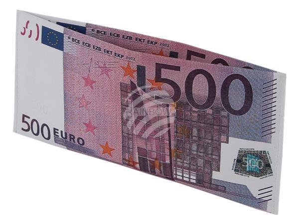 """BT-171 Designer Geldbörsen Portemonnaies """"500 EURO Schein"""""""