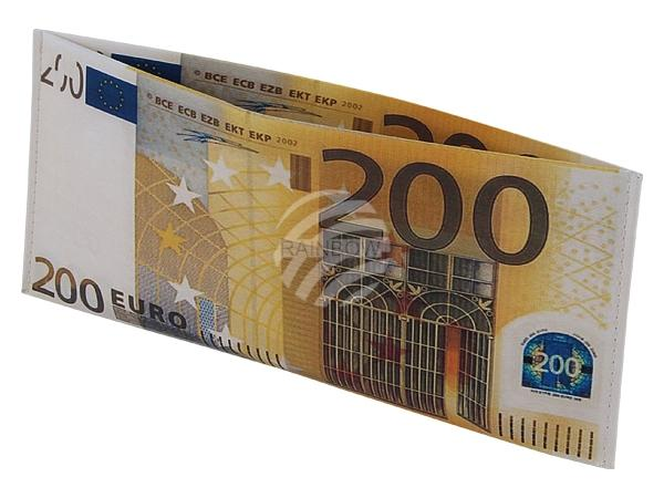 """BT-172 Designer Geldbörsen Portemonnaies """"200 EURO Schein"""""""