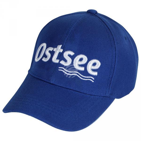 CAP-134 Baseballcap Basecap Cap Kappe blau Ostsee Maritim