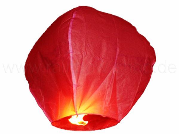 HL-s03 Himmelslaterne rot
