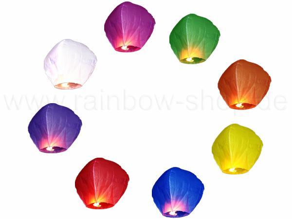 HL-sky Himmelslaterne Farbenmix