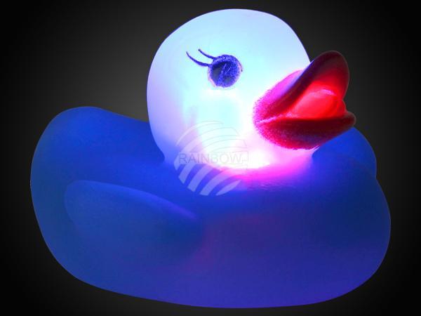 LE-04 LED Leuchtente blau Motiv: Badeente