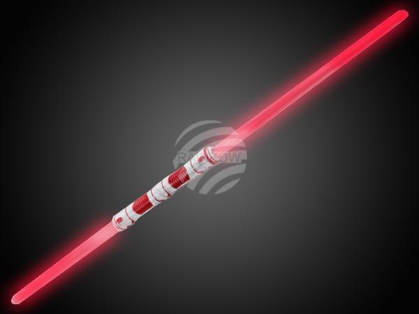LS-10 LED Leuchtschwert rot Motiv: Doppelschwert