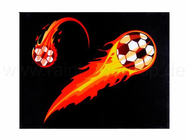 Shirt-27 EL Folie schwarz Motiv: Fussball