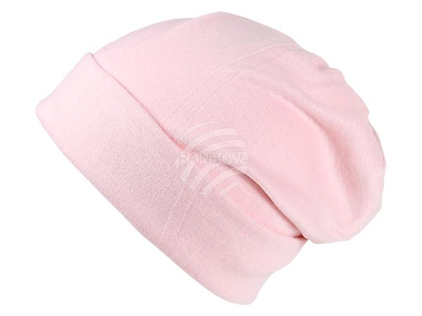 SM-108 Strickmütze Form: Long Beanie, Slouch Farbe: rosa