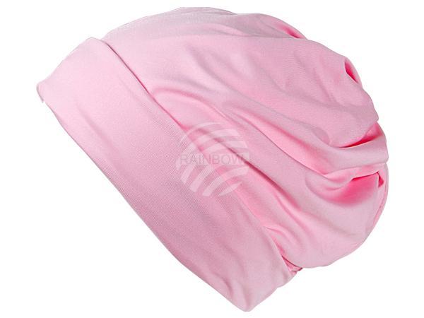 SM-76 Strickmütze Form: Long Beanie, Slouch Farbe: rosa