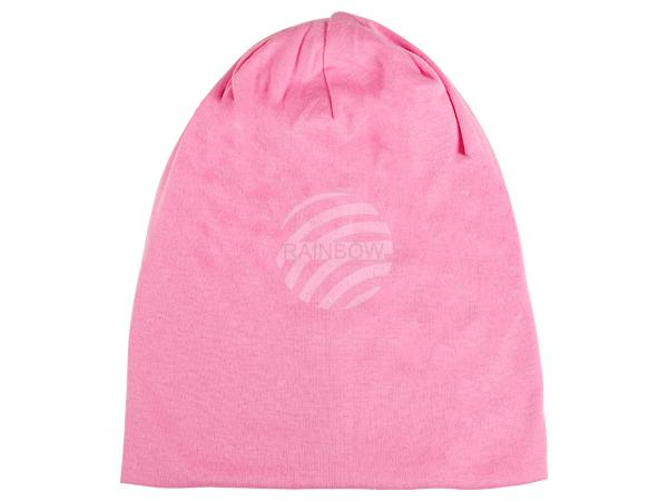 SM-92 Strickmütze Form: Long Beanie, Slouch Farbe: rosa
