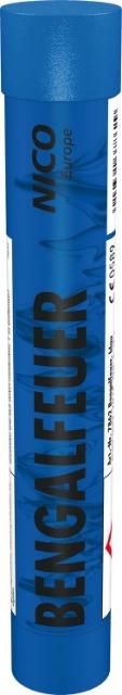 Ganzjahres Feuerwerk Bengalfeuer, blau KAT F1 / 5 er Pack