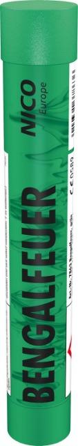 Ganzjahres Feuerwerk Bengalfeuer, grün KAT F1 / 5 er Pack