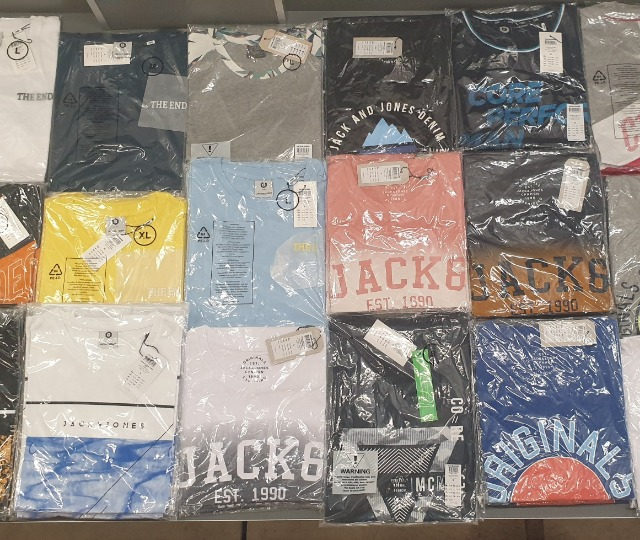 Jack & Jones T-Shirt, Solid und ähnliche T-Shirt MIX Posten