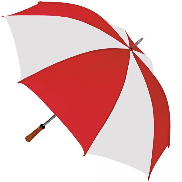 OKTAGON® Regenschirm Golfschirm Portierschirm Gästeschirm Stockschirm Schirm Handöffner gross Holzgriff Teflon