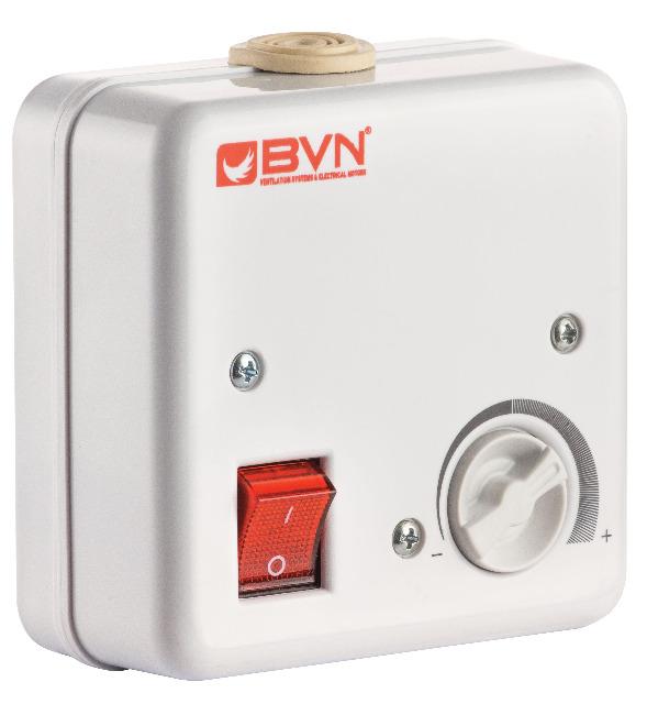 Drehzahlregler Regler Drehzahlsteuerung für Lüfter Ventilator Gebläse 2 Ampere
