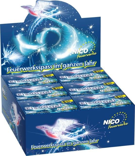 Nico Jugend Ganzjahres Feuerwerk Eisvögel 18 Packungen