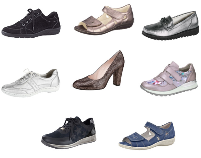 1500 Paar Damen-Markenschuhe Aktuelle Ware-ARA-Gabor-Waldläufer-Naturläufer-Livo Loop-Made in Germany 14,90 €