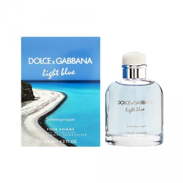 D&G Light Blue SWIMMING IN LIPARI (M) 125 ml edt spray