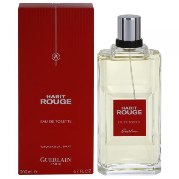 Guerlain-Habit Rouge 200 ml edt spray