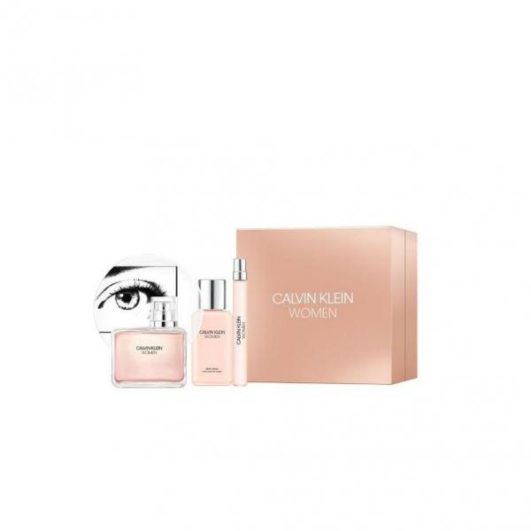 Set Calvin Klein Women edp 100ml + Body Lotion 100ml + edp 10ml