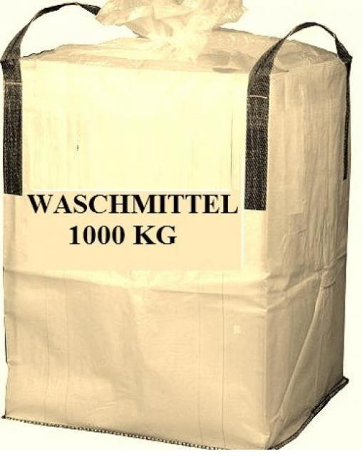 Waschmittel, Waschpulver, Vollwaschmittel Washing Powder 1000kg BIG BAG