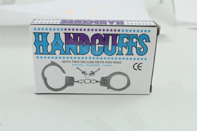 27-83785, Handschellen aus Metall, Metallhandschellen