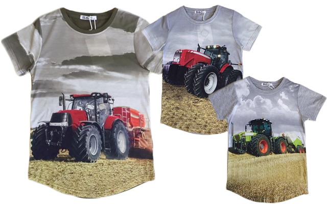 Kinder Jungen T-Shirt Traktor Bauer Farmer 2-12 Jahre Shirt Shirts Kurzarm Kindershirts Oberteil - 4,90 Euro