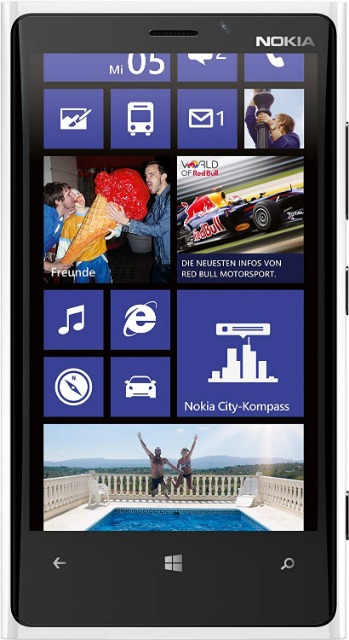 Nokia Lumia 920/925 Smartphone Touchscreen  8-MP-Kamera, 16/32 GB Speicher
