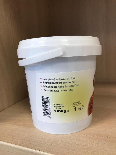 Barhoum Food Tomatenpaste Tomatenmark 1KG sonnengetrocknet 4005156254204