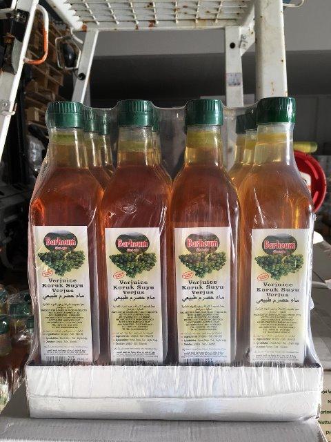 Barhoum Food Traubenessig Verjuice 500ml kaltgepres. Güteklasse1