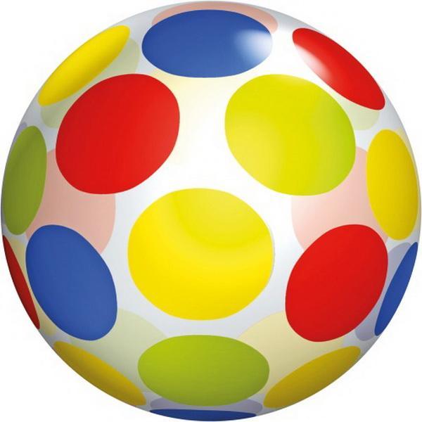 Buntball Point transparent 5,5 Zoll ca. 14cm, 1 Stück