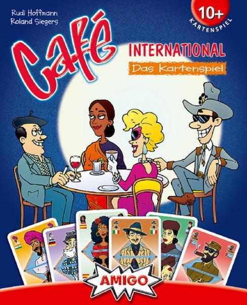 Café International Kartenspiel