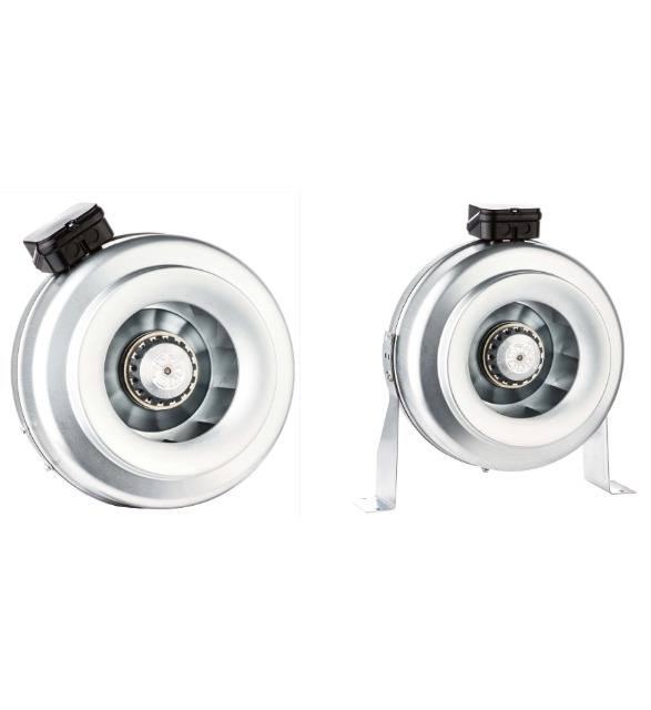 Radialventilator Rohrventilator Rohrlüfter Metall Abluft TURBINE ø160mm 390m³/h